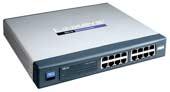 LINKSYS 10/100 16-Port Switch (Metal Casing)