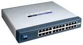 LINKSYS 10/100 24-Port Switch (Metal Casing)