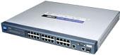 LINKSYS 24-Port 10.100 + 2-Port Gigabit Switch with Web View